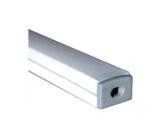 ESL • Profil alu anodisé blanc Micro pour Led 1.00m + diffuseur opaline-eclairage-archi--museo-
