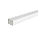 ESL • Profil alu anodisé blanc PDS4 pour Led 1.00m + diffuseur opaline-eclairage-archi--museo-