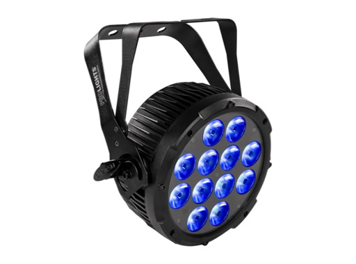PROLIGHTS • Projecteur à LEDs LUMIPAR12UQPRO3 12 x 8 W Full RGBW IP44