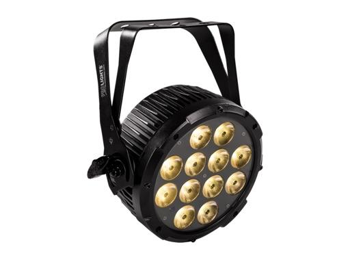 Projecteur PAR à LED IP44 LUMIPAR12UAW3 12 x 6 W full WW/CW/A
