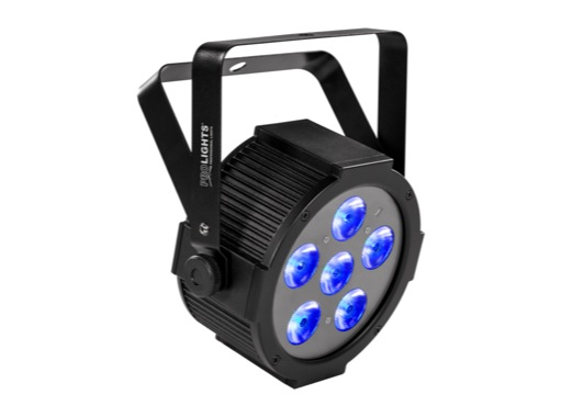 PROLIGHTS • Projecteur à LEDs LUMIPAR6UQ 6 x 8 W Full RGBW