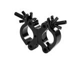 PROTRUSS • Collier alu noir double 360° pour tube Ø 48-51mm CMU 200kg-structure--machinerie
