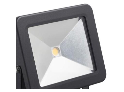 Projecteur noir Flood Light Led 50W blanc neutre IP65 4700lm