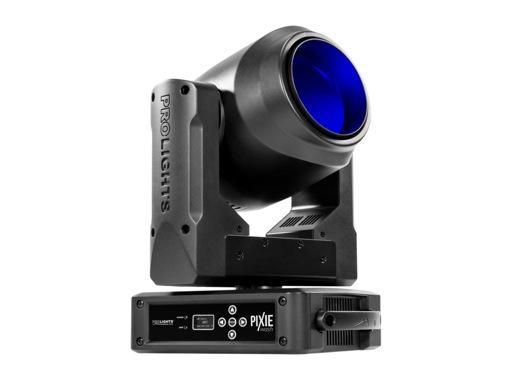 Lyre Wash asservie PIXIEWASH, LED 1 x 60 W Full RGBW zoom 6-50° • PROLIGHTS