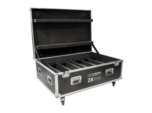 PROLIGHTS • Flightcase pour 6 barres LED sur batterie Z8STRIP