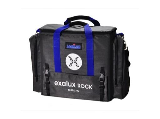 EXALUX • Sacoche de transport pour panel ROCK + accessoires