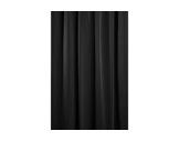 PEND • LARGEUR 2,95M/HAUTEUR 8,90M/AMPLEUR 0%-VELOURS NOIR 550G/M2-textile