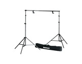 1314b : Stand complet MANFROTTO support de fond-structure--machinerie