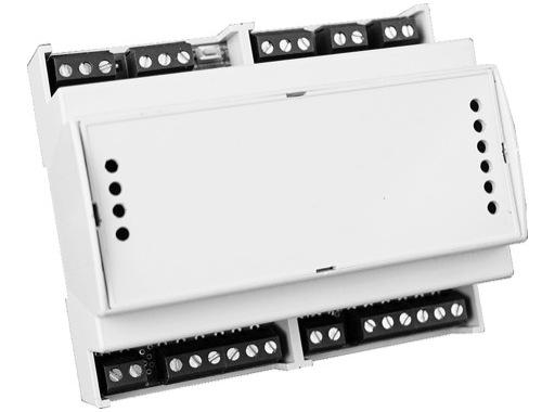 DTS • Alimentation DRIVENET 28C DIN 24 ou 48 V 2 sorties sur bornier, 8 circuits