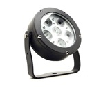 Projecteur EOS 6 FC 6 LEDs Full RGBW 22° IP65 gris anthracite • DTS-projecteurs-en-saillie