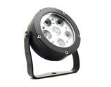 Projecteur EOS 6 FC 6 LEDs Full RGBW 22° IP65 gris anthracite • DTS-projecteurs-en-saillie