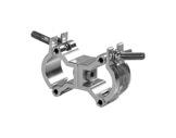 PROTRUSS • Collier alu double pour tube Ø 32-35mm CMU 50kg-structure--machinerie