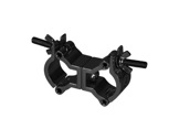 PROTRUSS • Collier alu noir double pour tube Ø 32-35mm CMU 50kg-structure-machinerie