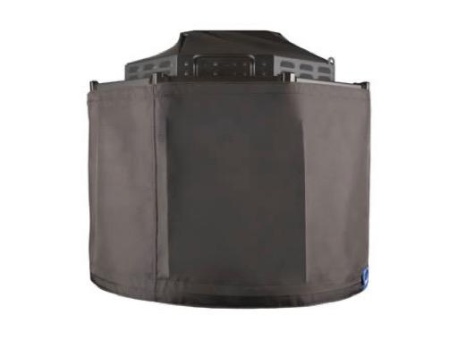 CHROMA-Q • Mini jupe noire pour projecteur SPACE FORCE