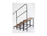 PRATICABLE MUTANT • Main courante pour escalier 4 marches-longueur 100cm-praticables