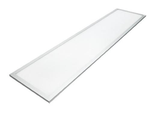 LIGHT PANEL • Dalle Leds blanc chaud 1200 x 300 mm 3000K 3600lm+ Driver