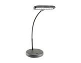 Lampe LED pour pupitre sur socle, 10 LEDs, col de cygne flexible 380mm-lampe-de-pupitre