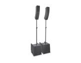 LDS • Système line array portable avec barres d'espacement et câbles HP-audio