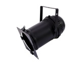 Projecteur PAR64 long noir fermé + câble + porte filtre + douille-eclairage-spectacle