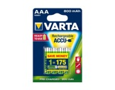 VARTA • Piles rechargeables HR 03 Accu R2U AAA 800 mAh blister x 4-consommables