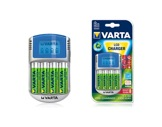 VARTA • Chargeur de piles LCD + 4 Accus AA 2400mA-piles