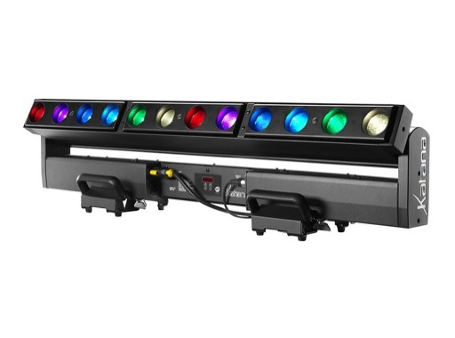 Barre asservie à LEDs KATANA DTS 12 x 20 W Full RGBW Zoom 3,5-30°