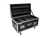 PROLIGHTS TRIBE • Flight case pour 6 lyres PIXIESPOT ou PIXIEWASH