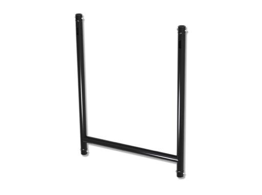 DOUGHTY • Raccord H 4 directions aluminium noir 1000 x 750 mm CMU 200kg