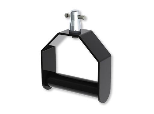 DOUGHTY • Poignée aluminium noir 200 x 188 mm CMU 100kg