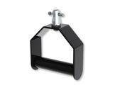 Poignée aluminium noire 200 x 188 mm CMU 100 kg - DOUGHTY-accessoires