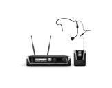 LDS • Système HF micro serre-tête avec émetteur ceinture + récepteur UHF-audio