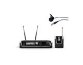 LDS • Système HF micro cravate avec émetteur ceinture + récepteur UHF-audio