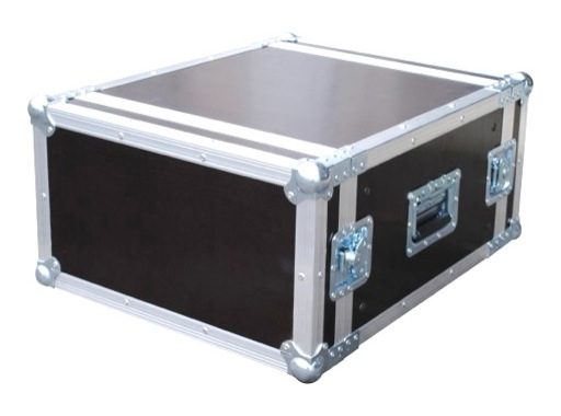 "Flight case • Rack 19""- 4U capot avant /arriere, profondeur 450mm"
