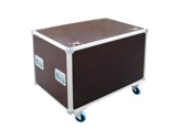 Flight case • Malle open 800 x 400 x 400 mm + 4 roulettes-malles-bacs-a-cables