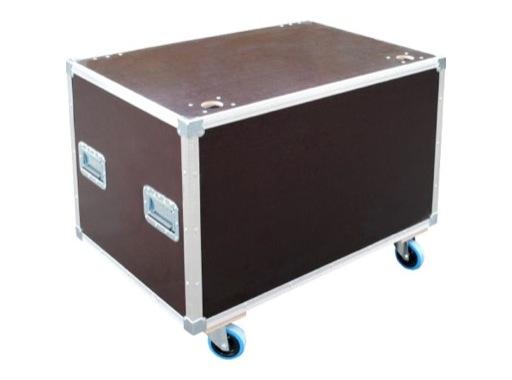 Flight case • Malle open 800 x 575 x 600 mm + 4 roulettes