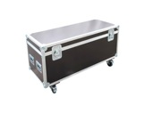 Flight case • Malle classique 800 x 400 x 400 mm + 4 roulettes-flight-cases