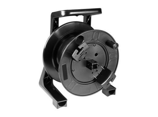 Enrouleur • PVC noir 314 x 235 x 206 mm