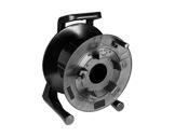 Enrouleur • PVC noir 484 x 380 x 330 mm-cablage