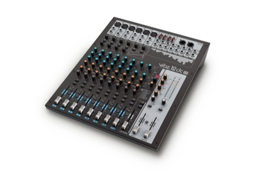 LDS • Console audio 12 voies avec effets et compresseur intégrés