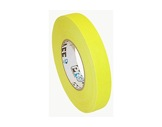 ADHESIF • Gaffer fluorescent jaune 25mm x 25m-consommables