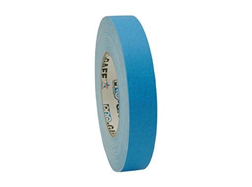 ADHESIF • Gaffer fluorescent bleu 25mm x 25m