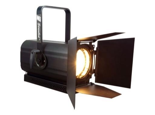Projecteur LED lentille Fresnel 250W 6500K 10°/96° - SERENILED PLUS RVE