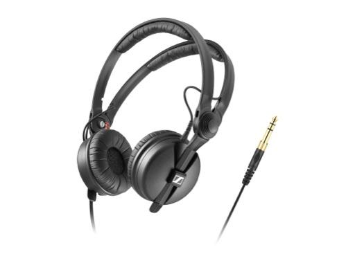 SENNHEISER • Casque HD25 double arceau + câble droit 1,5 m