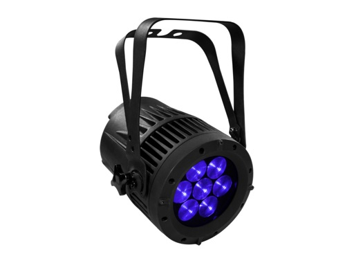 PROLIGHTS • Projecteur LEDs ARCLED7507Q2ZSC 7 x 15W Full RGBW Zoom 8-40° IP54