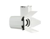AVOLA•Projecteur blanc LED 30W 3000K 50°+ volets et adaptateur rail -ponctuels