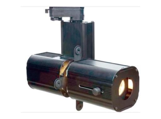 MINITWINLED • Découpe noire LED 30W 3000K 18°/41°+ adaptateur rail 3 all