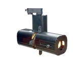 MINITWINLED • Découpe noire LED 30W 3000K 18°/41°+ adaptateur rail 3 all-cadreurs-et-projections-gobos
