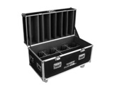 PROLIGHTS • Flight case pour 8 STUDIOCOBPLUS