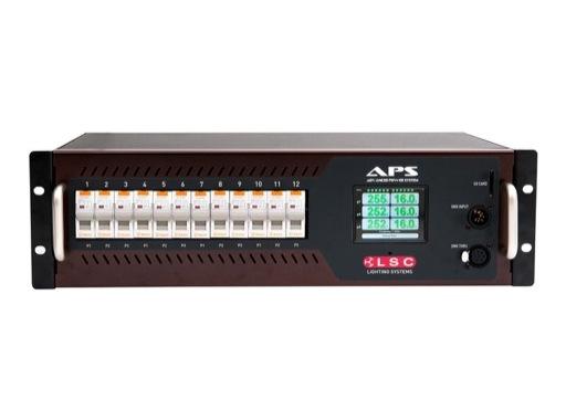 LSC • Alimentation APS programmable 12 x 16A sorties sur borniers à vis