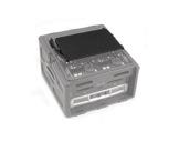 SKB • Plateau rétractable 8U pour Roto Rack Régie SKB-R104 & R106-flight-cases